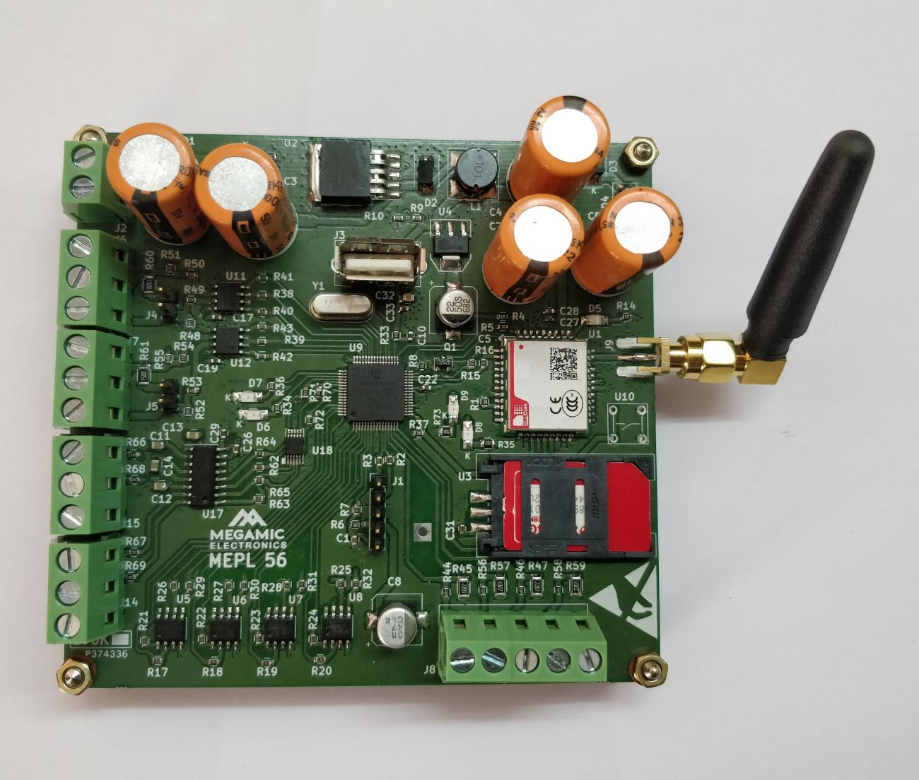 MICRO - GSM based Datalogger with USB and Memory